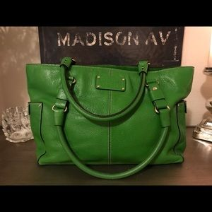 Kate Spade Kelly green purse